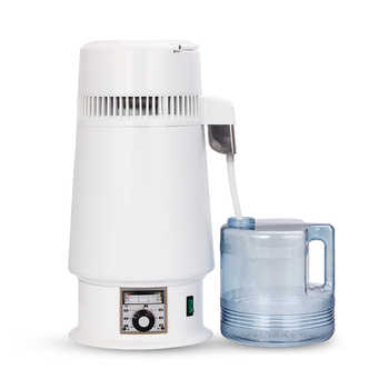 4 Litre Home Pure Water Alcohol Distiller Water Filter Machine Distillation Purifier Moonshine Boiler Brewing Jug Household Lab - DISCOUNT ITEM  25% OFF All Category