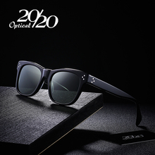 20/20 Classic Polarized Sunglasses Men Women Brand Acetate Unisex Sun Glasses Driving Shades Eyewear Oculos AT8033