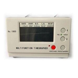 Image 4 - Timegrapher No.1900 de alta calidad, probador de sincronización de reloj de máquina multifunción para reparadores de relojes de máquina y fabricantes de relojes