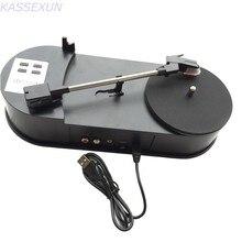Винил к MP3 конвертер USB в диск, винил к MP3 портативный плеер в USB флэш-диск, ПК не требуется Бесплатная доставка