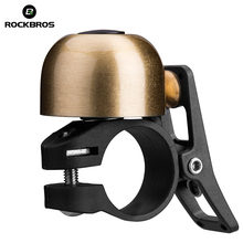 купить Rockbros Cycling Bike Bicycle Bell Aluminium Ordinary Classical Handlebar Bell Ring Sound MTB Road Bike Horn Bicycle Accessories по цене 329.32 рублей