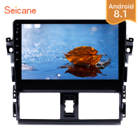 Seicane 2Din Android 8.1 For 2013 2014 Toyota Vios 10.1 inch GPS Car Radio Touchscreen Wifi Multimedia Player Head Unit