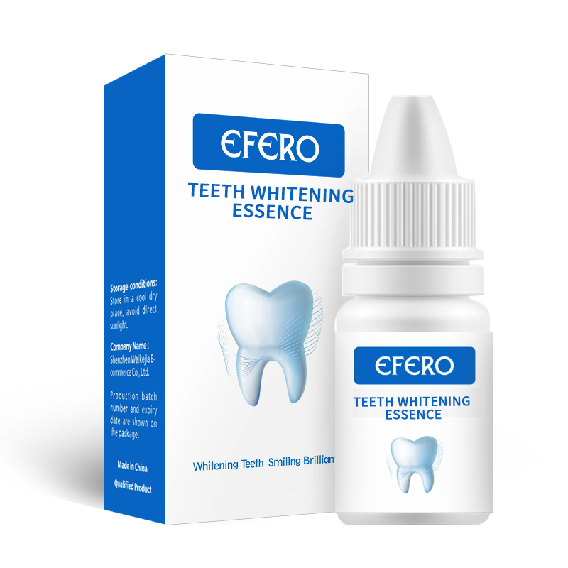 1PCS EFERO White Teeth Whitening Serum Oral Hygiene Cleaning Essence Remove Stains Tooth Bleaching Dental Teeth Care Products 5