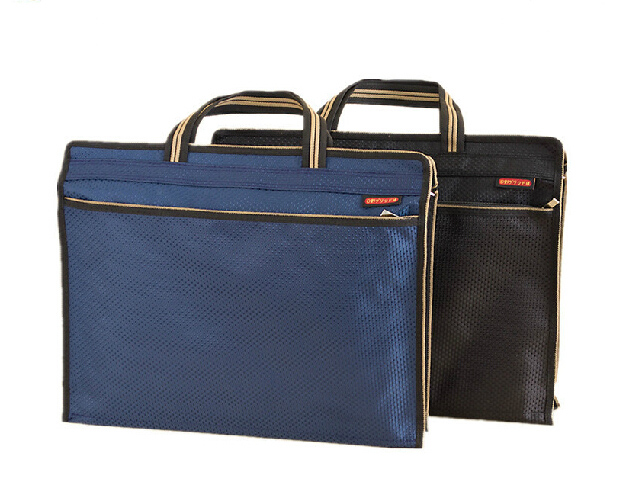 Office A4 Documents Folder Bag, File Organizer Bag With Handle
