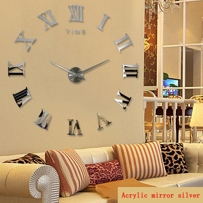 SuperDeals - 2017 new real large home decorative wall clocks quartz ...