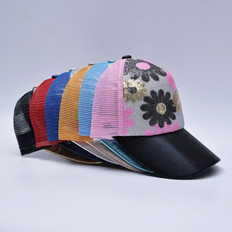 b0d9f5b0295 2017 Girl novelty snapback caps women breathable baseball cap ladies trend  sun hats for women mesh trucker hat bone masculino-in Baseball Caps from  Apparel ...