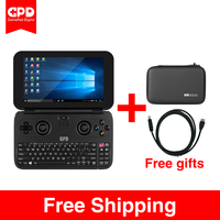 New GPD WIN Aluminium Shell Mini Game Laptop Notebook 5.5 CPU x7 Z8750 Windows 10 Bluetooth 4.1 4GB/64GB(Black)