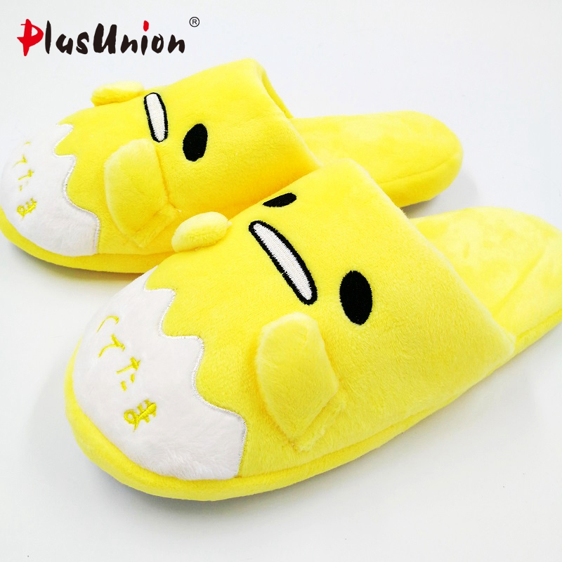 anime home indoor slippers plush embroidered winter flock furry fluffy for women shoes rihanna house slipper unisex cartoon indoor slippers flock faux fur plush feather furry fluffy slides shoes rihanna fuzzy house home with women winter pantufa adulto