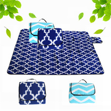 Foldable Camping Mat Pad Picnic Mat Pad Blanket Indoor Baby Crawling Blanket Pad Outdoor Moistureproof Beach Blanket Mat good little baby crawling mat climb pad double sided pattern of increased moisture thicker section skid game blanket outdoor pad