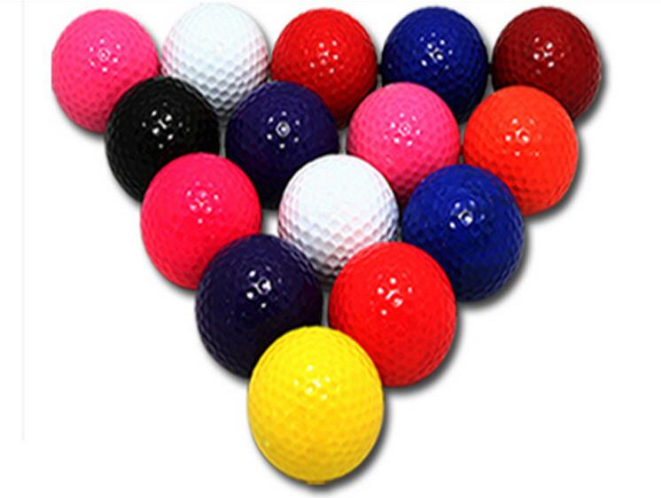 Wholesale Colorful Golf Balls Golf exercise ball-in Golf ...