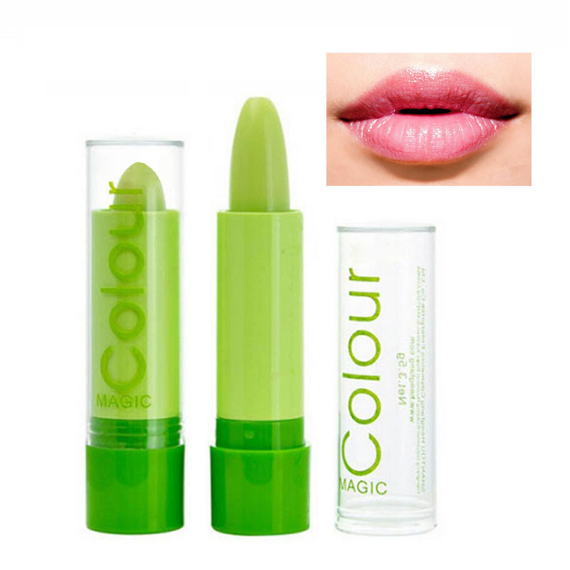 AddFavor 2Pc Magic Color Changing Fruit Flavor Lip Balm