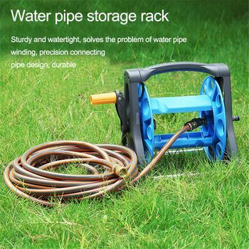 Nowy wąż do przechowywania W gospodarstwie domowym zwinięty bęben do rur ogród do przechowywania wody narzędzia ogrodnicze #4W tanie i dobre opinie Hose Storage Rack Hose Reel Water Pipe Hose Reel Garden Tools Water pipe frame