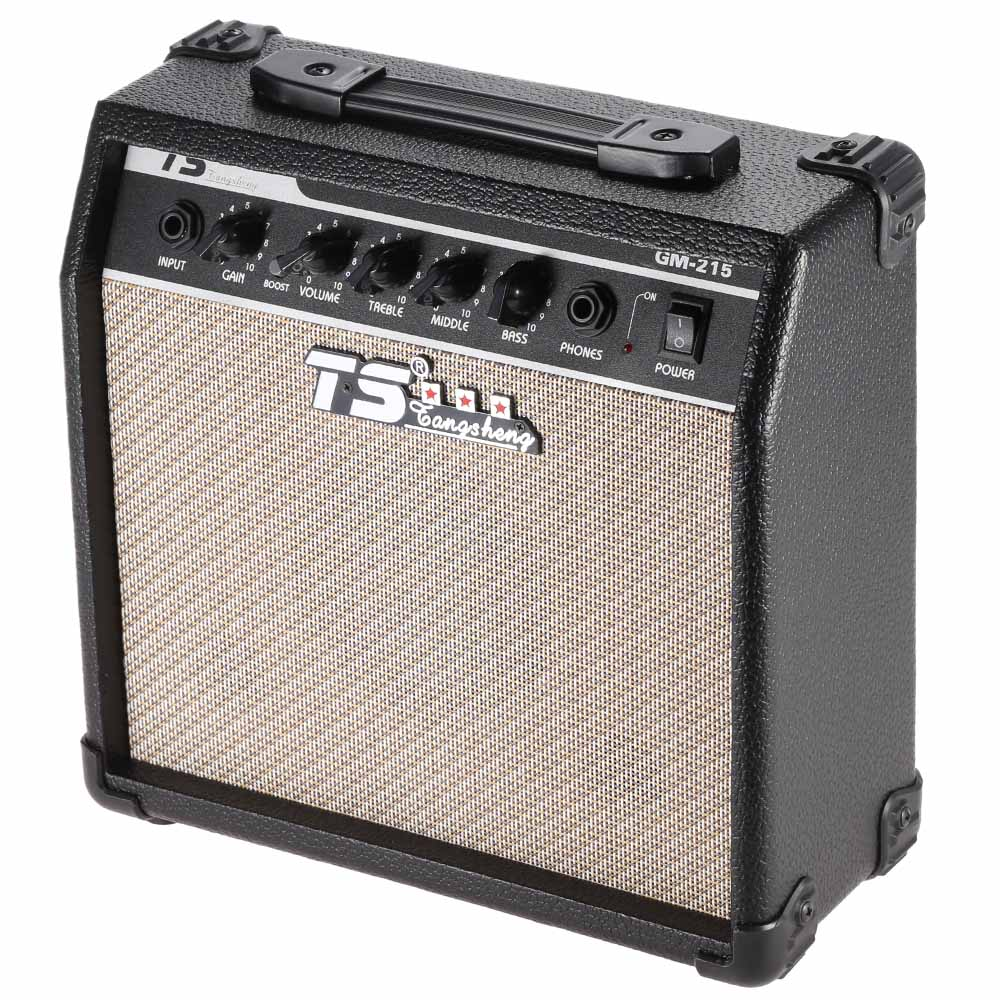 high quality gm 215 15w electric guitar amplifier amp distortion with 5 speaker 3 band eq to. Black Bedroom Furniture Sets. Home Design Ideas