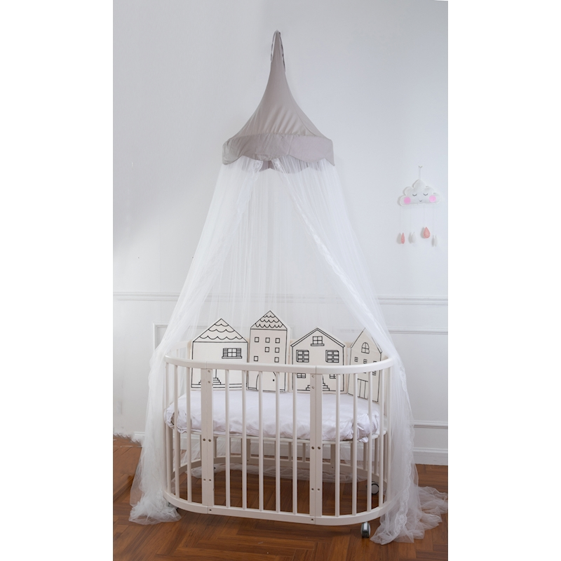 Baby Girls Crib Net Children Girl's Princess Lace Bedding Mosquito Netting Kids Baby Picture Photo Props Baby Bedroom Net