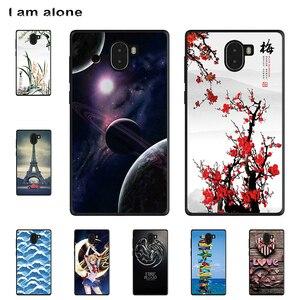 I am alone Phone Cases For Leagoo Kiicaa Mix 5.5 inch Solf TPU Cellphone Fashion Cute Animals Shell For Leagoo Kiicaa Mix(China)