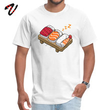 T Shirt Sleeping Sushis Summer Autumn 2019 Fashion Normal Rush Sleeve All Wrestling Round Neck Mens Tops