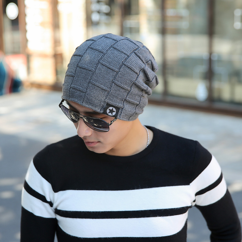 Winter Warm Hat Trendy Chic Knitting Slouchy Baggy Oversize Hat for Man and Women Unisex Cap