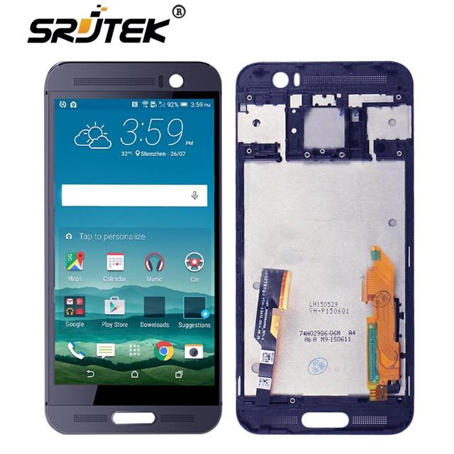 Srjtek screen For HTC One M9 Plus LCD Display Touch Digitizer Sensor Glass with Frame Assembly 5.2'' For HTC M9 Plus Touch