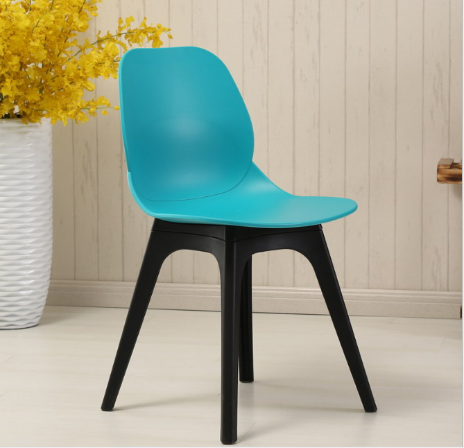 fashionable design teal dining chairs. Modern Design Classic Minimalist Dining Chair Europe Plastic cafe chair  living room fashion furniture Loft Popular in Chairs from