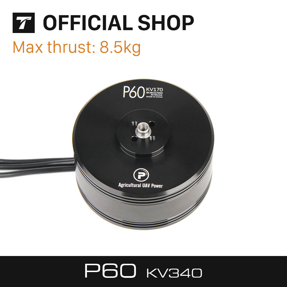 T-MOTOR Latest Products P60/340KV of P Series motor for Agriculture Multicopter/UAV t motor series mn3515 navigator series