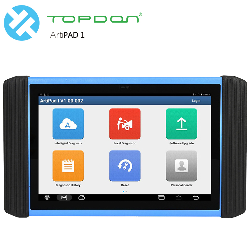 Topdon Diagnostic Tool Professional Full system Scanner ECU Coding and Programming TOPDON ArtiPAD 1 Maxisys Pro J2534 diagnostic