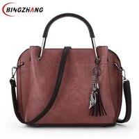 Retro Women Bag Simple Elegent Solid Vintage Crossbody Bag Messenger Bags Ladies Casual PU Leather Christmas