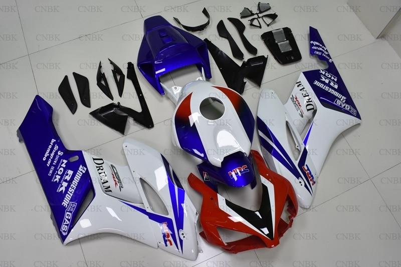 for Honda Cbr1000 RR 2004 2005 Motorcycle Fairing CBR1000RR 2004 Red White Blue Fairing CBR 1000