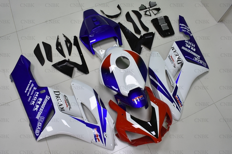 for Honda Cbr1000 RR 2004   2005 Motorcycle Fairing CBR1000RR 2004 Red White Blue Fairing CBR 1000 RR 05 Full Body Kits-in Instruments from Automobiles & Motorcycles    1