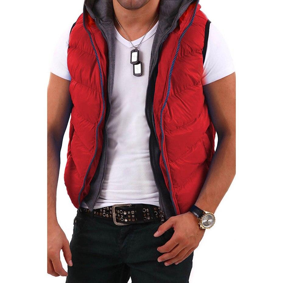 ZOGAA Men   Parkas   Vest Warm Casual Cotton Coats Mens Sleeveless Jacket Men's Vest Waistcoat Fashion Male Vest New Autumn Winter
