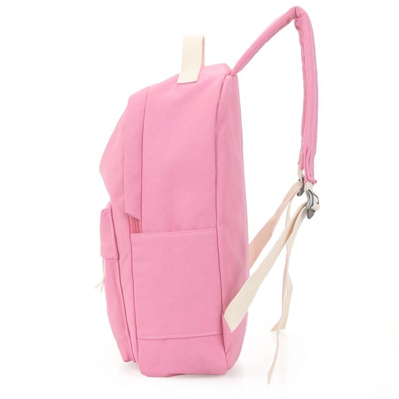 Hot Sale Style Bookbags Womens Backpack Travel Bags Student School Bag Girl Backpacks Casual Travel Rucksack #2