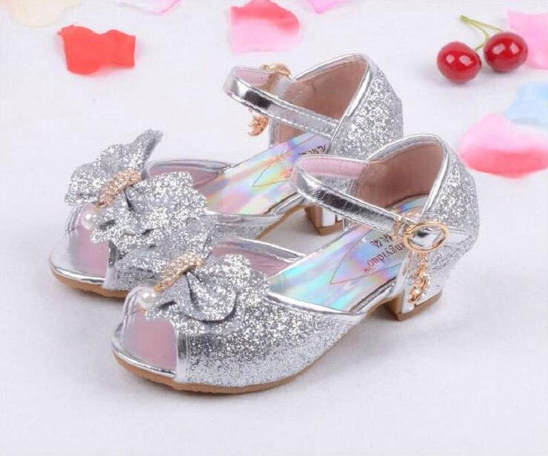 Nieuwe zomer prinses sandalen kinderen muiltjes klompen schoenen - Kinderschoenen - Foto 4