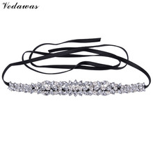 Vedawas Brand 2016 New Fashion Za Crystal Chokers Accessories Vintage Black Chain False Collier Jewelry For Women Wholesale 2656