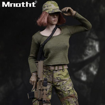 Collection 1/6 FG043 American Seal CP Camouflage Women's Suit for 12inch Phicen TBleague Verycool Action Figure m3 Toys