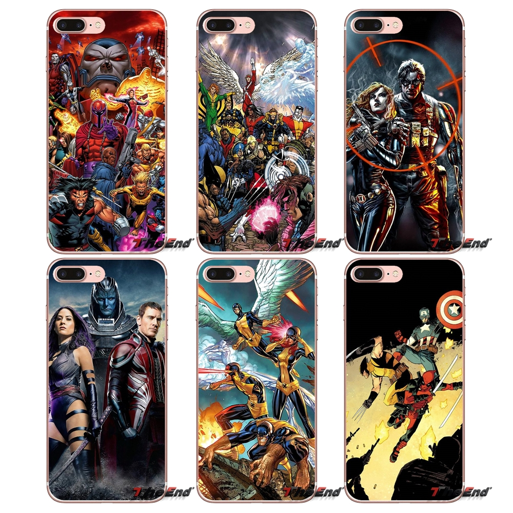 The Avengers and The X Men iphone case