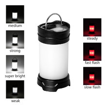 iTimo Portable LED Tent Lanterns 7 Modes Flash Outdoor Camping Lamp USB / Battery Power Super Bright Emergency Light(China)