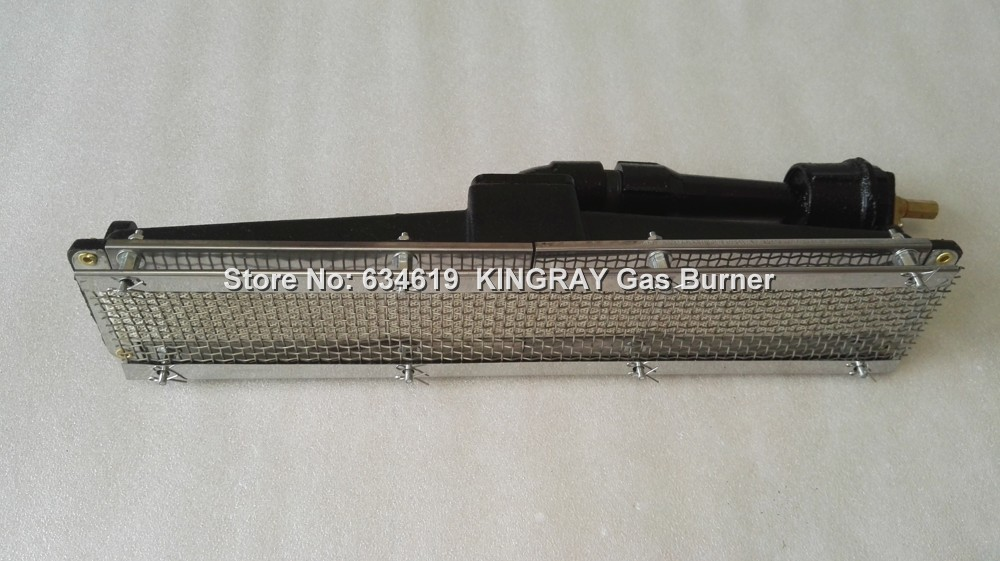 Cast iron gas infrared ceramic burner, oven LPG&NG gas burner, IR burner for manufacturing bbq grill and bread oven