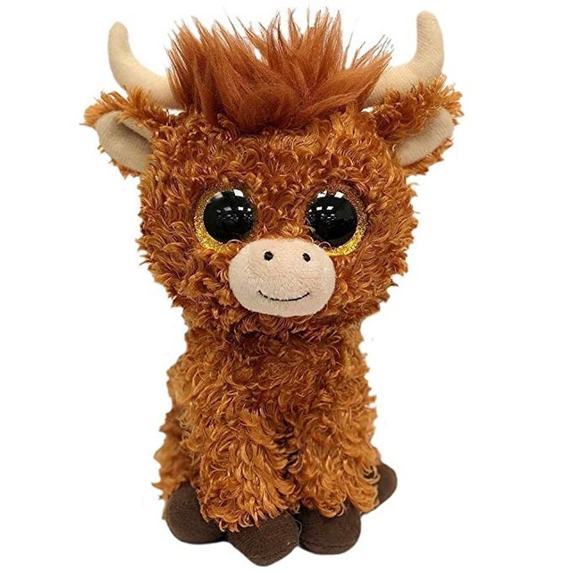 Ferdinand Bull DOS CUATRO Lupe Goat TY BEANIE Babies 1PC 18CM Plush Toys  Stuffed Animals KIDS TOYS GIFT b5d94ab974b2