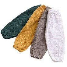 Summer&Autumn Fashion Children Boys Girls Pants Casual Solid Cotton Lanterns Harem Long Pants 1-5T