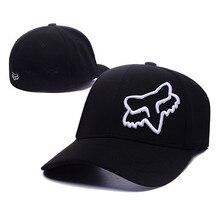 Hohe qualität Mode Fuchs Baseball Kappe Frauen Männer Motor Sport Snapback  Hut Unisex Cartoon Muster Stickerei Caps Hip Hop Hüte c6a3689b99