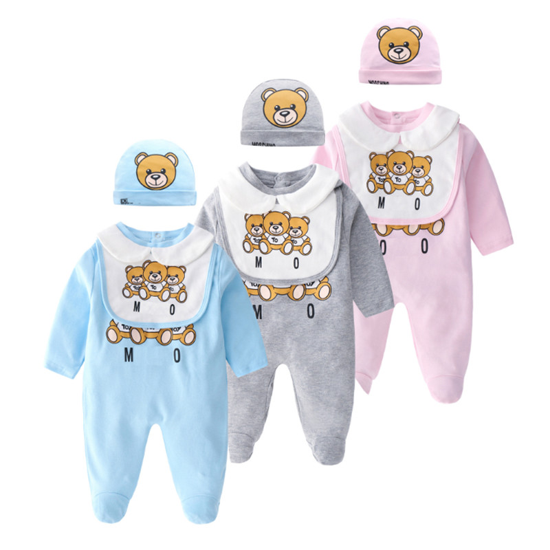 Baby Clothing 2019 New Newborn jumpsuits Baby Boy Girl   Romper   Clothes Long Sleeve Infant Product