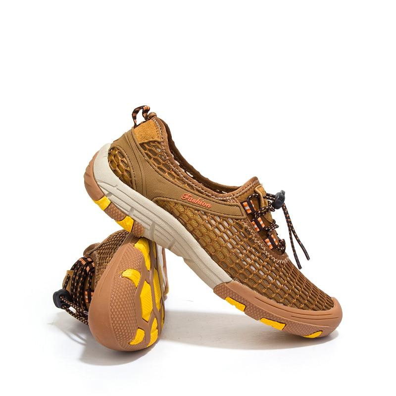 Neue Mode KLYWOO Sommer Herren Schuhe Air Mesh Plus Größe 39