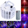 Sound Activated Auto 30W DMX512 RGBW Led Stage Strobe Light KTV Disco Bar Light