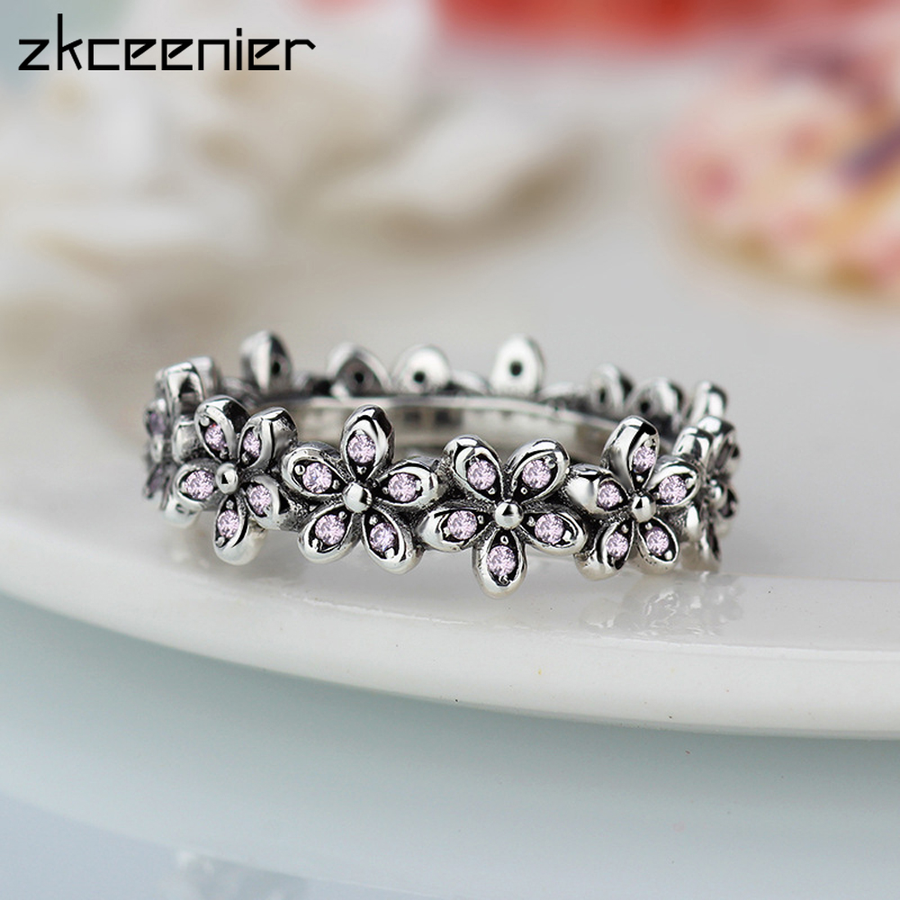 269f55b4b ᐂ New! Perfect quality pandora cz daisy flower and get free ...