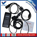 diagnostic scanner with latest software v2.4 vcads &  interface 9998555 for volvo excavator