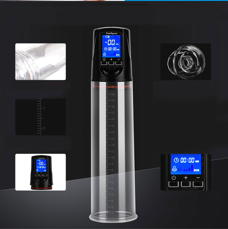 Penis Pump with USB Rechargeable,LED Automatic Penis Enlarger Male Enhancement , Electric pro extender Penis Enlargement 5