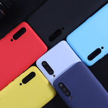 TPU Case For Xiaomi Mi 9 8 A2 Lite Luxury Candy Color Matte Phone Cover Soft Silicone Cases Coque