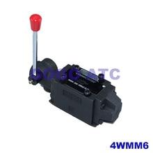 Rexroth Тип 4WMM6 ручной реверсивный клапан направленного гидравлические регулирующие клапаны гидрораспределителя 4WMM6E/г/л/U/G/T