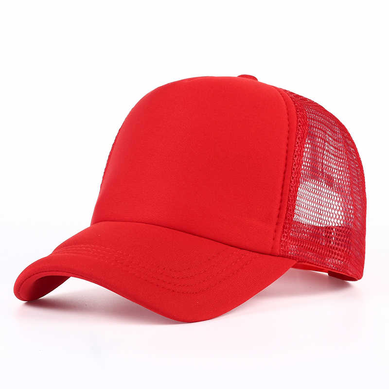 23dd92ab232 ... VORON 6 color Cheap Mens Plain Trucker Hats for Spring Summer Womens  Blank Mesh Snapback Caps