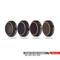 Snap On ND Filters Set 4Pcs ND4 8 16 32 Camera Lens Filter Bundle set Kit