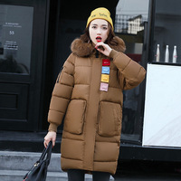 2017 New Long Parkas Female Women Winter Coat Thickening Cotton Winter Jacket Womens Outwear Parkas for Women Winter Outwear